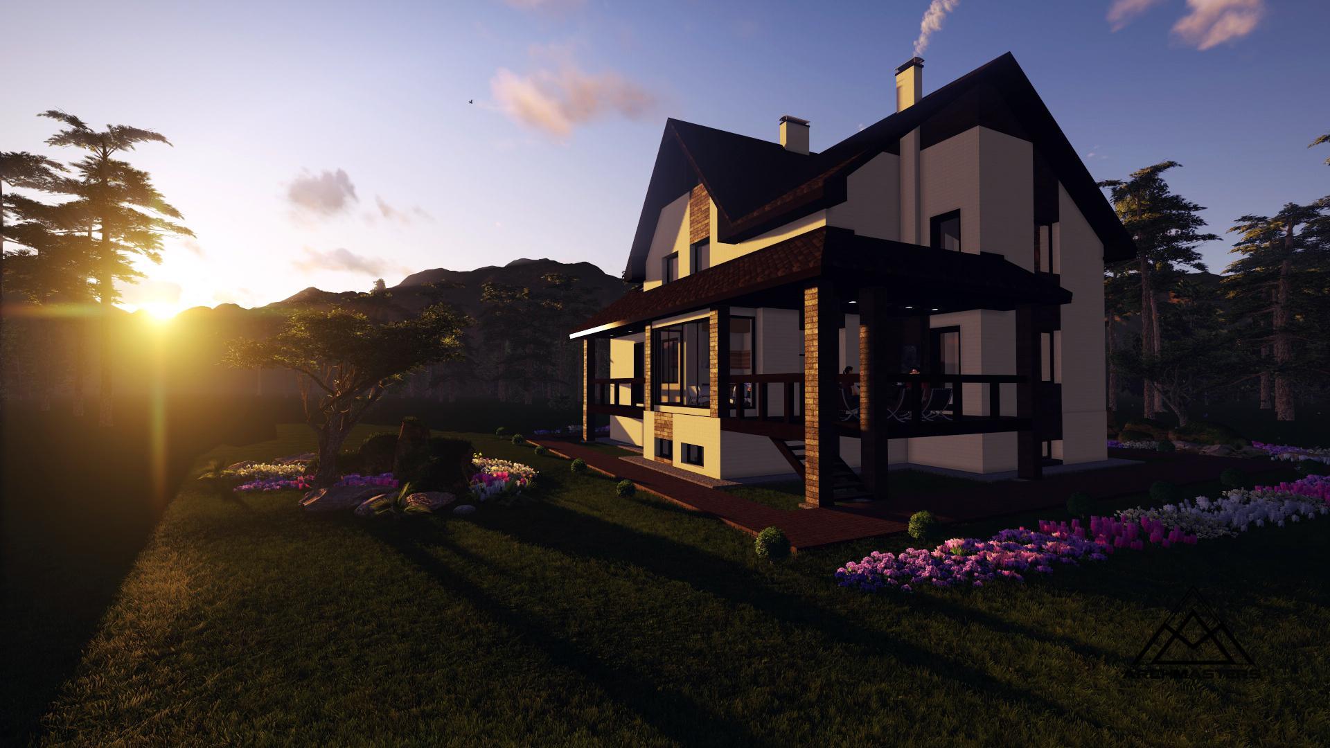 Видео-презентация дома: Проект дома из керамического блока