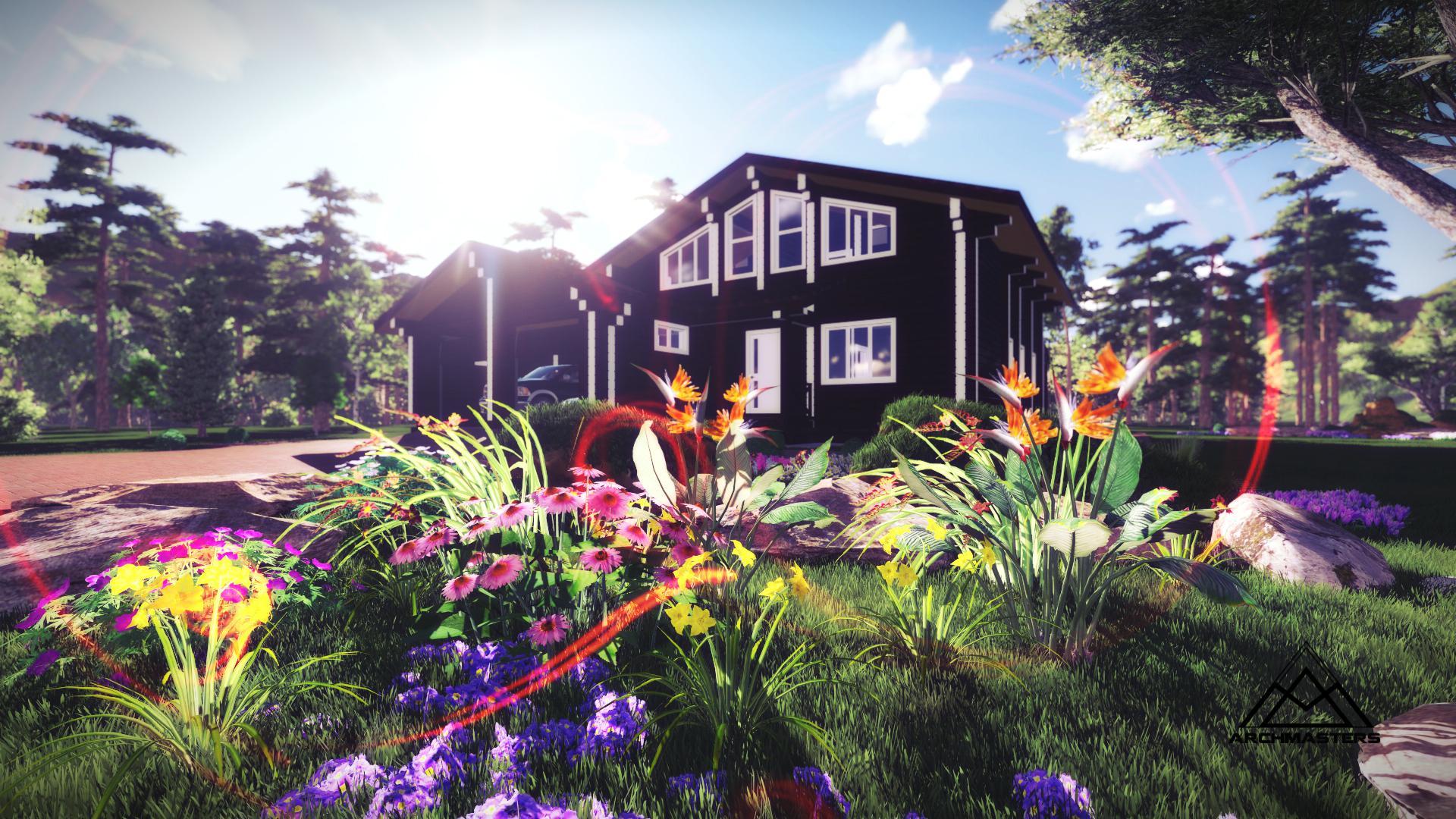 Видео-презентация дома: Дом в стиле шале