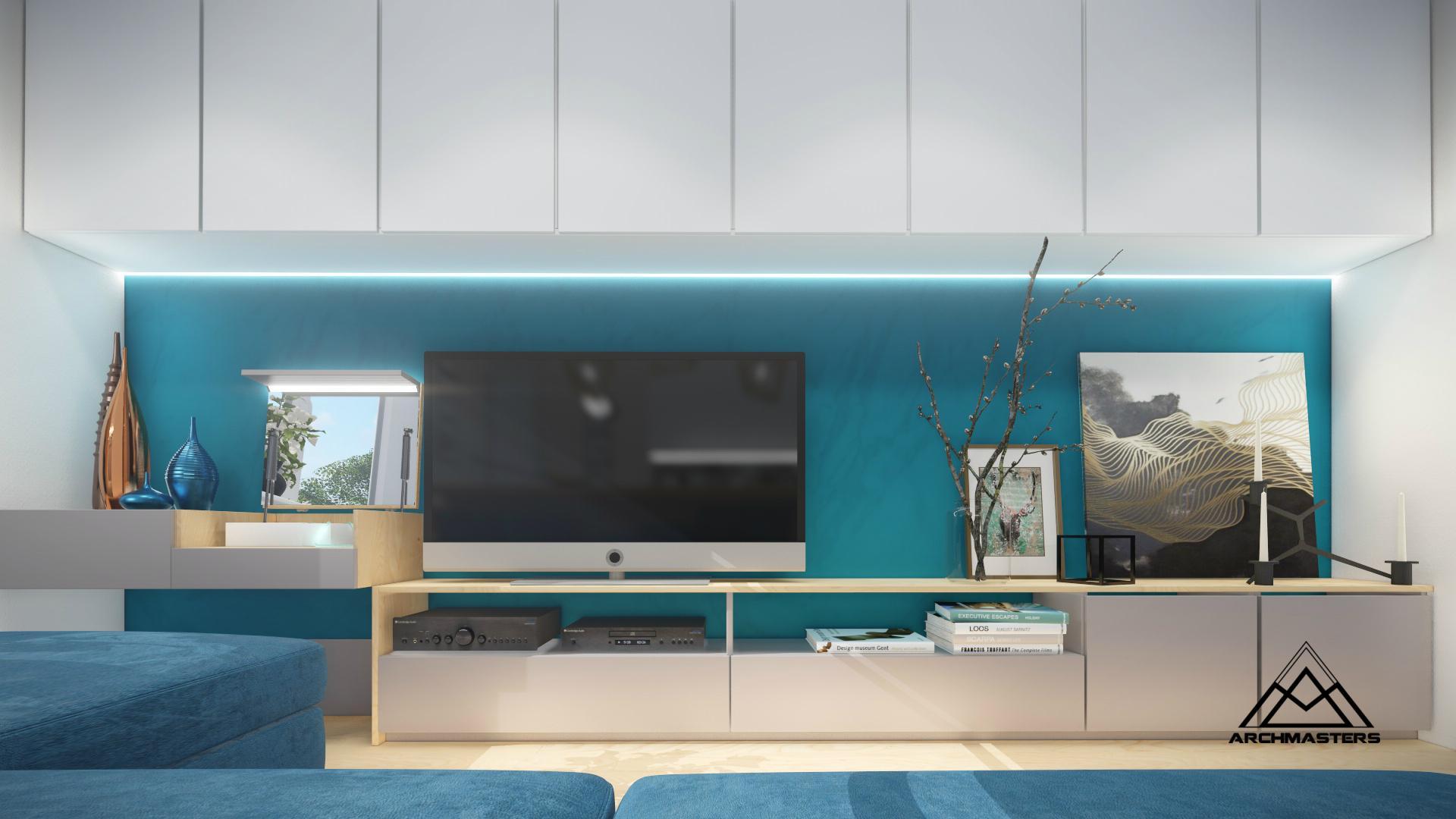 Дизайн интерьера квартиры ЖК Стрижи