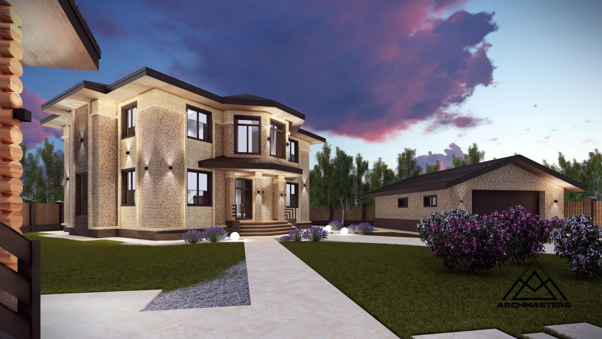 Проект дома по Васту